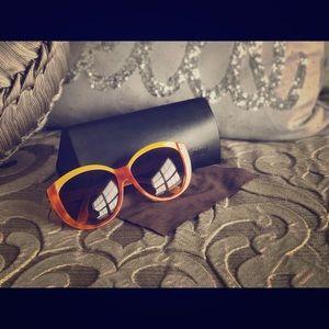 FENDI Color-Block Sunglasses